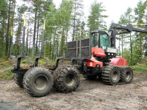 Skovning med professionelle maskiner